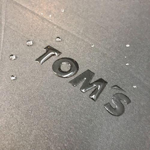 トムス ロゴが浮き出る撥水長傘