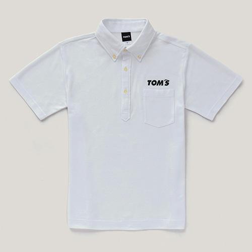 トムス 半袖ポロシャツ(白)