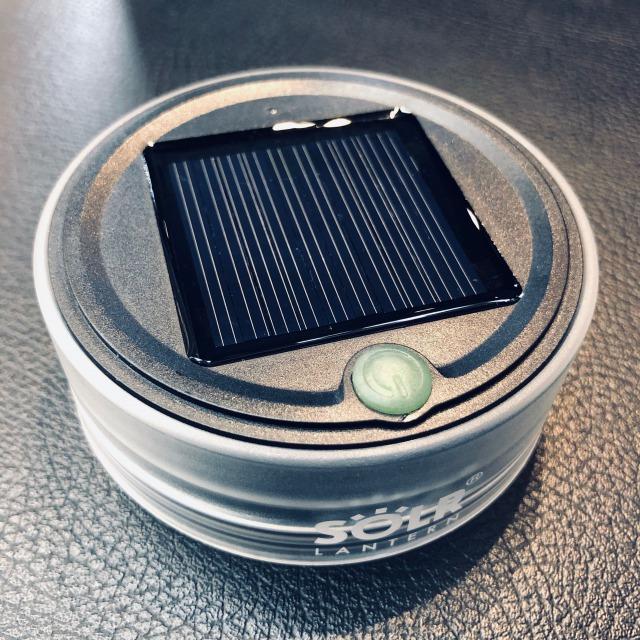 トムス LEDソーラーシリコンランタン