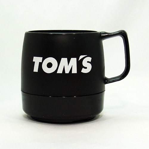 トムス DINEXマグカップ(黒)