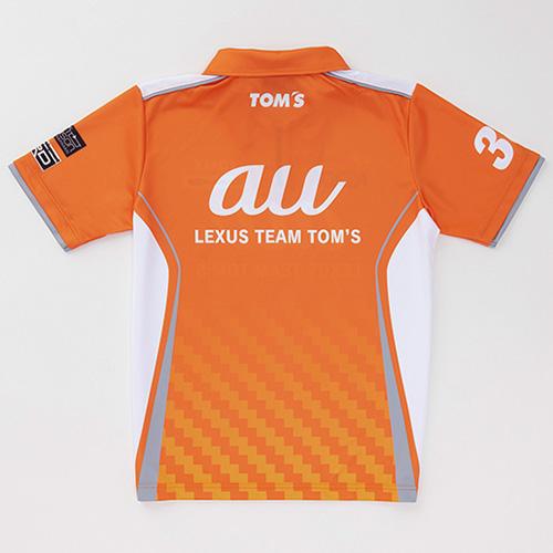 2019 トムス ZIP ポロシャツ au