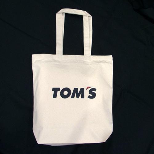 トムス キャンバストートバッグ