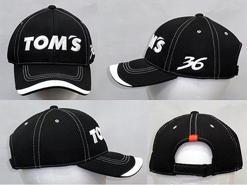 トムス メッシュ キャップ 【ブラック】