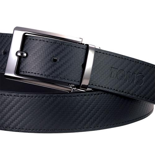 トムス カーボンスタイルファッションベルト