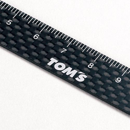 トムス ドライカーボン15cmスケール