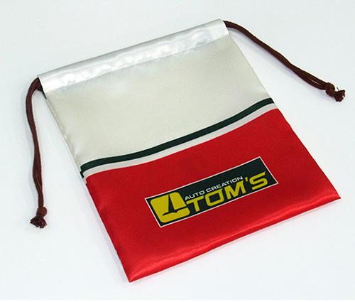 巾着 TOM'S ロゴ 1st