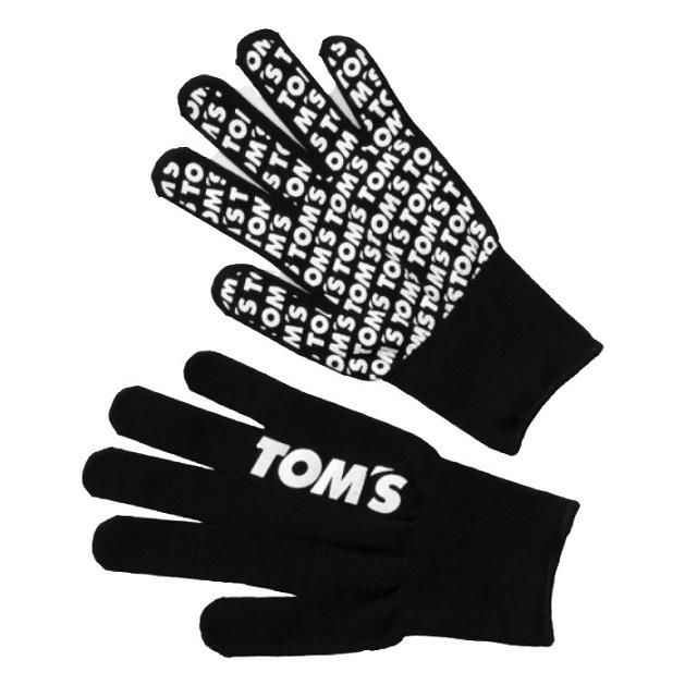 トムスロゴ軍手(黒)大サイズ
