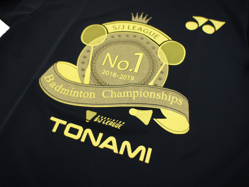 S/Jリーグ2018優勝記念Tシャツ