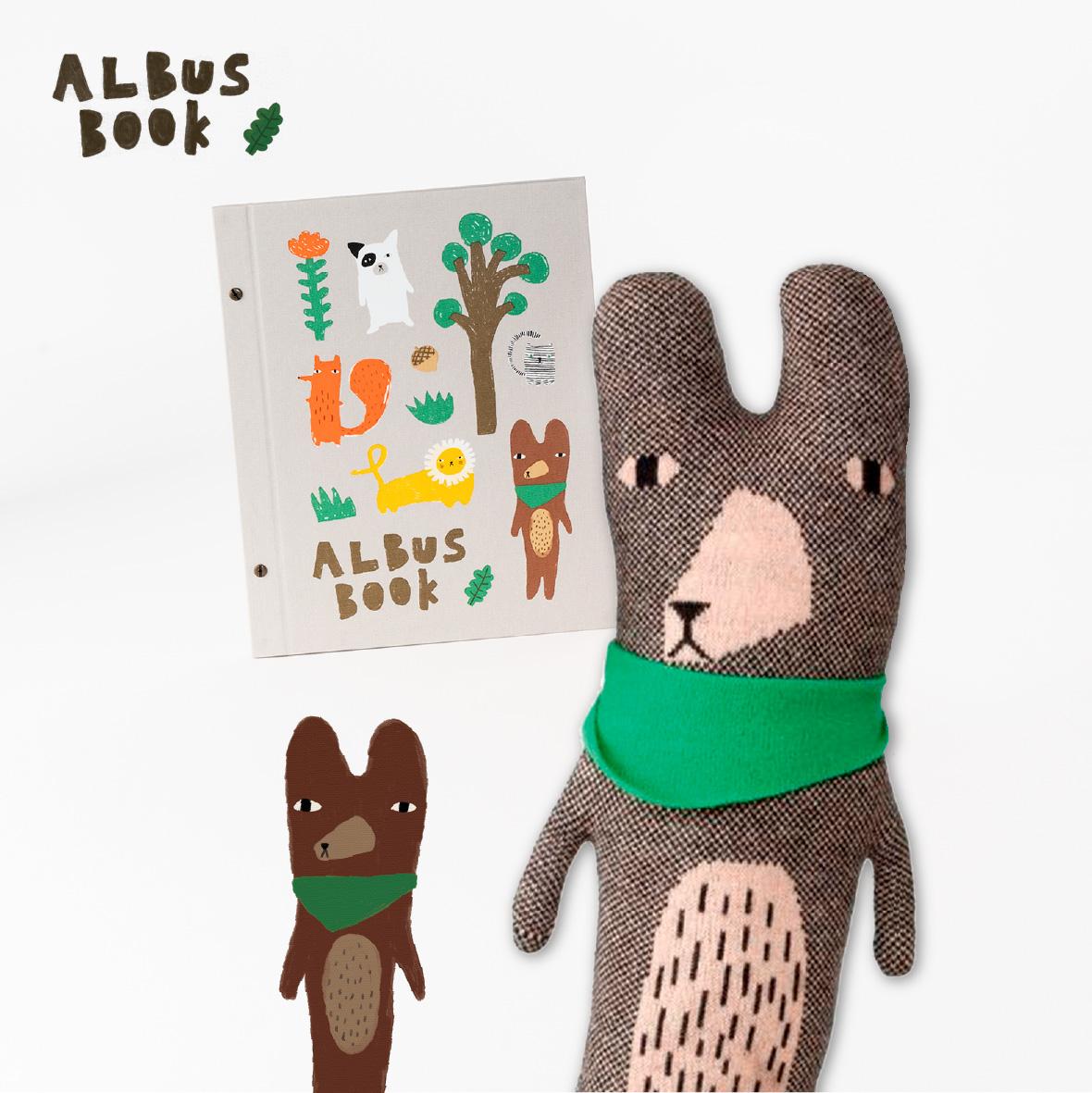 【TK】ALBUSBOOK × 大きなくまのテッド