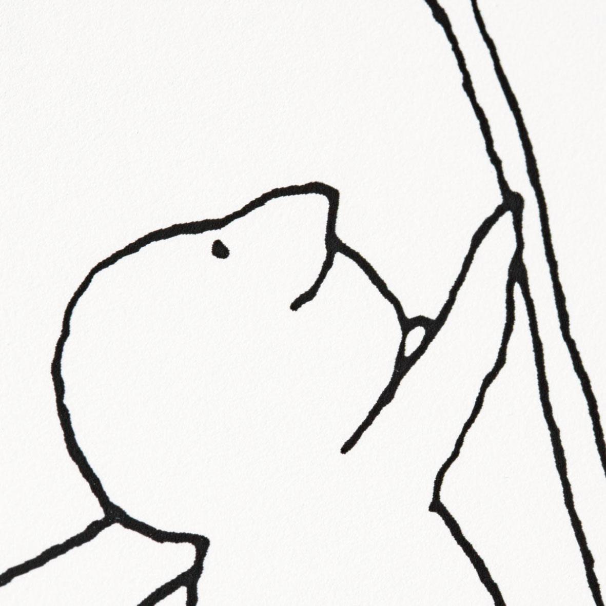 【TK】額装プリント M.B. Goffstein「てっぺんへ」
