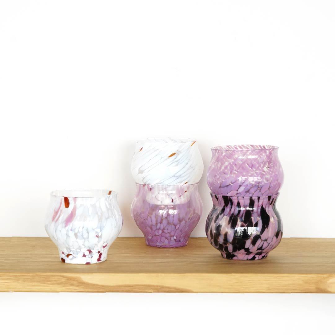 【TK】SKRUF Glass Vase 4(ピンク)