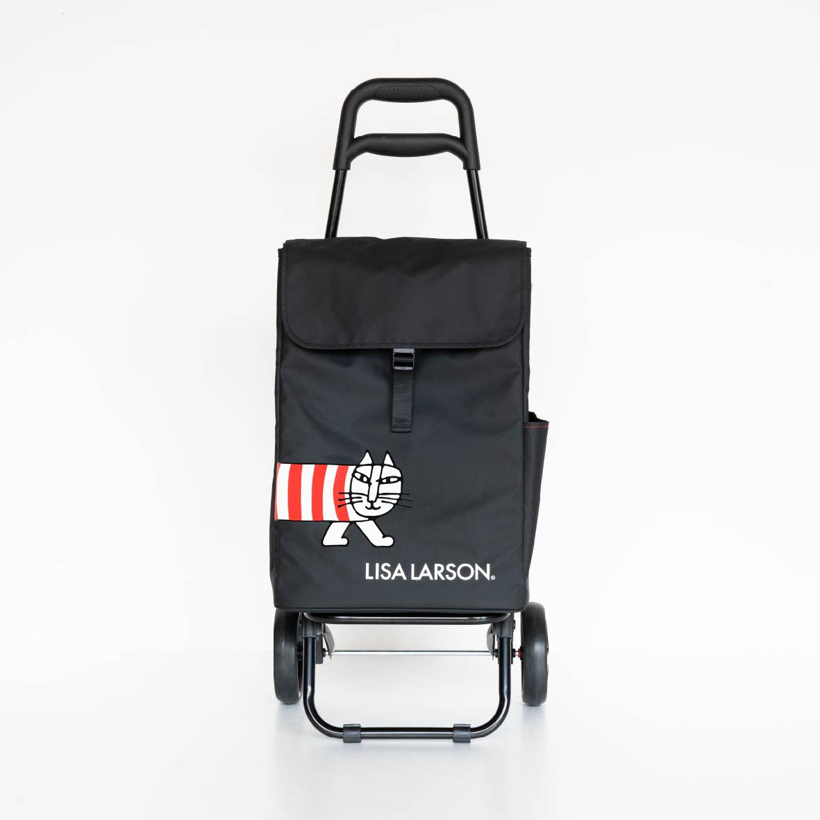 (Y)【2021年7月上旬以降順次出荷予定】保温・保冷ショッピングカート(マイキー ・ブラック)