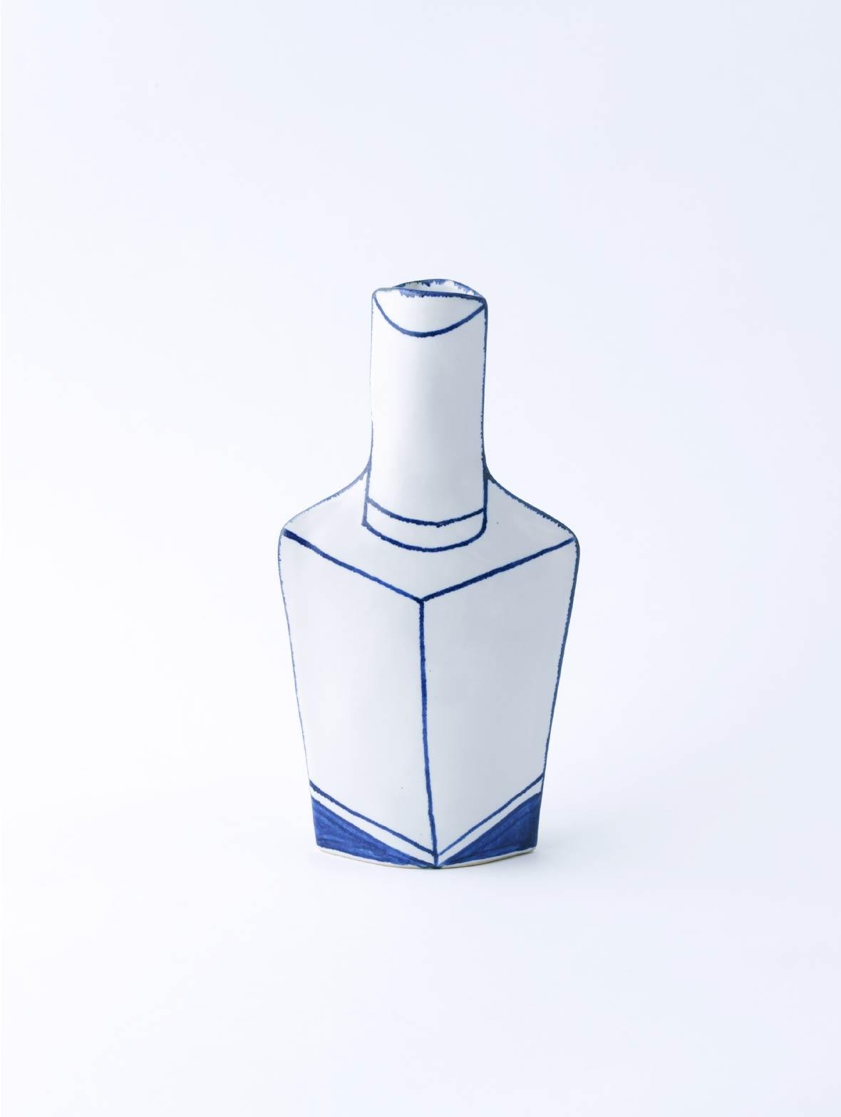 Flower Vase Nail Polish Bottle(Square)