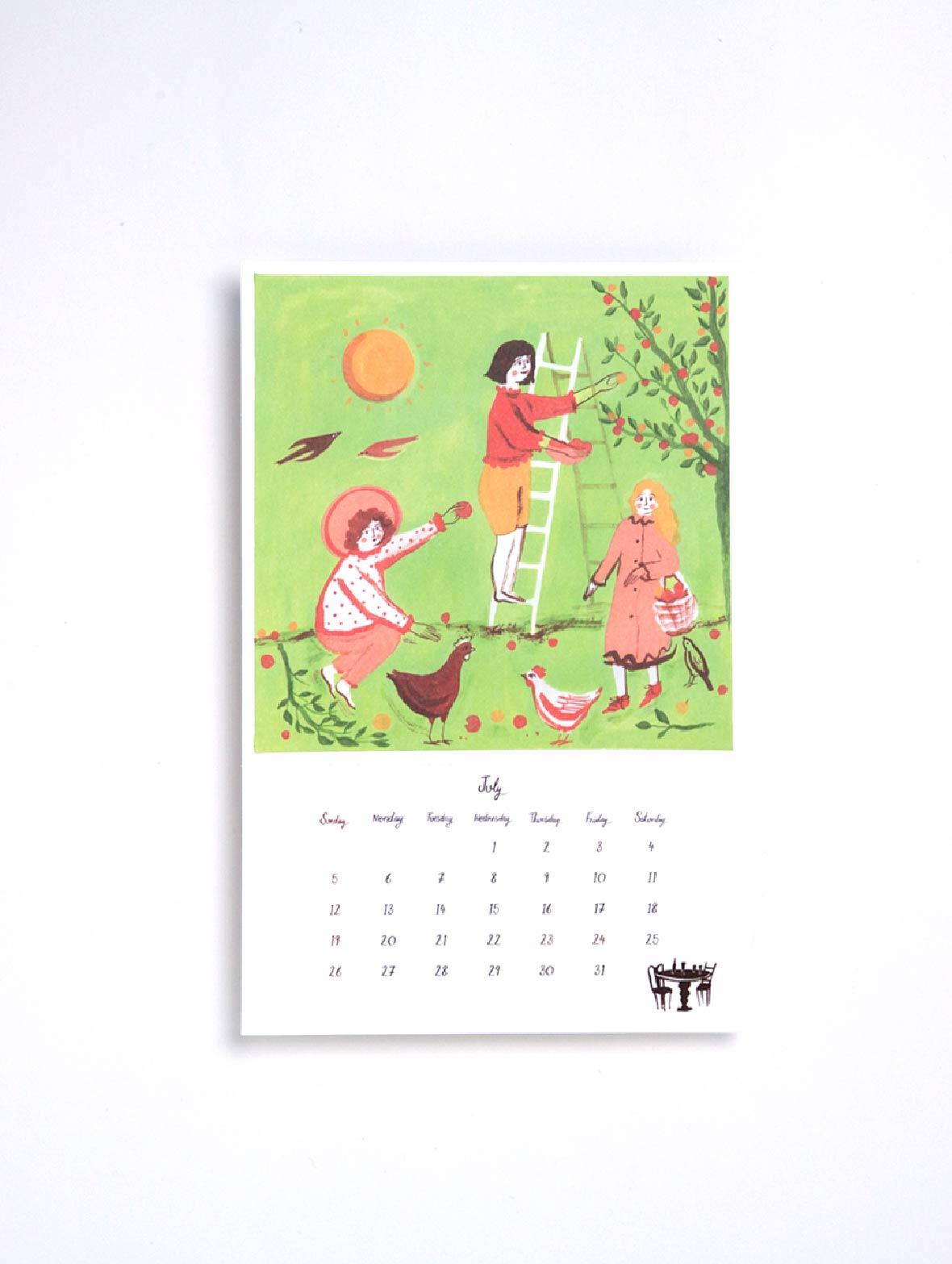 【TK】ポーリー・ファーン 2020 カレンダー