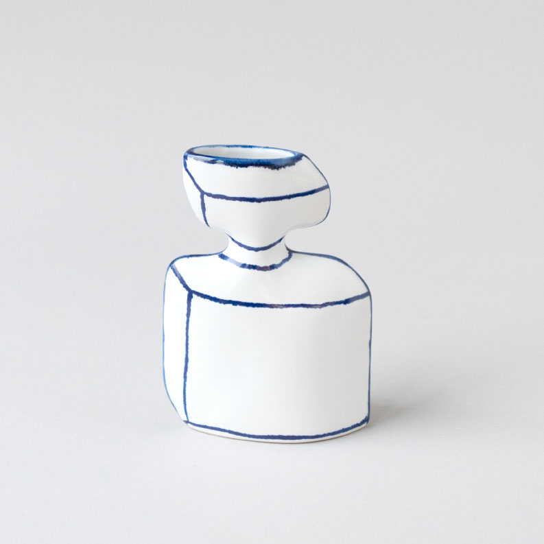 【TK】香水瓶のかびん(seto)