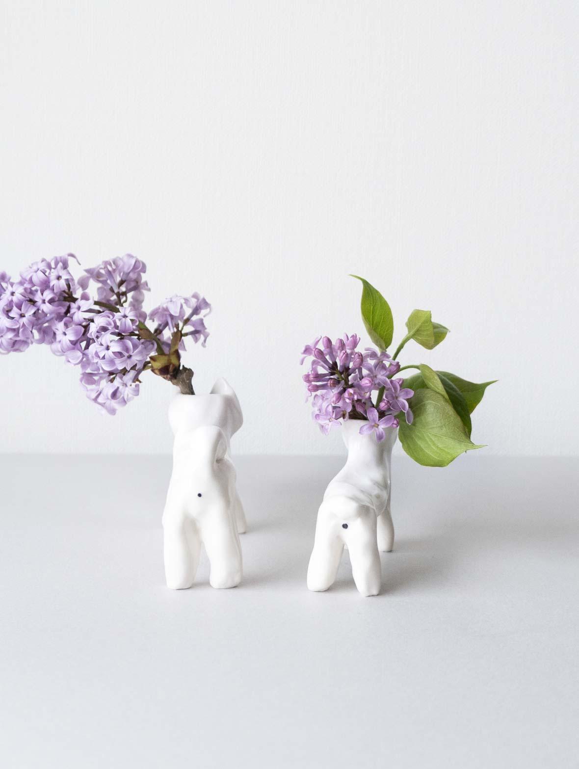 【TK】ブルドッグのお手伝い(花瓶)