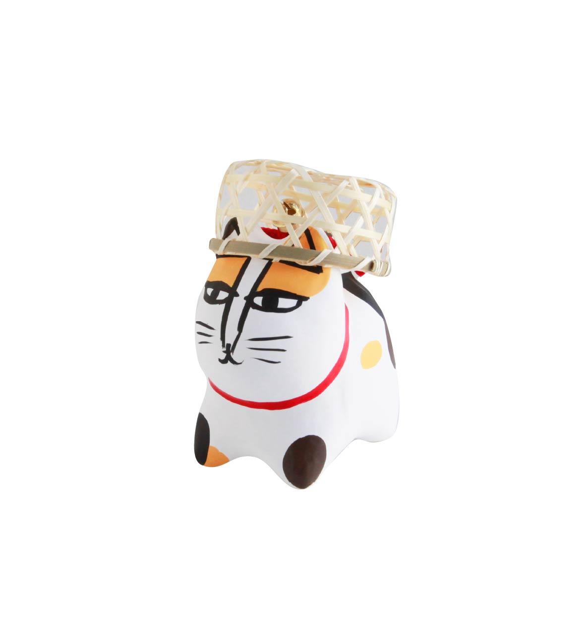 リサ・ラーソンの猫張り子(三毛猫)