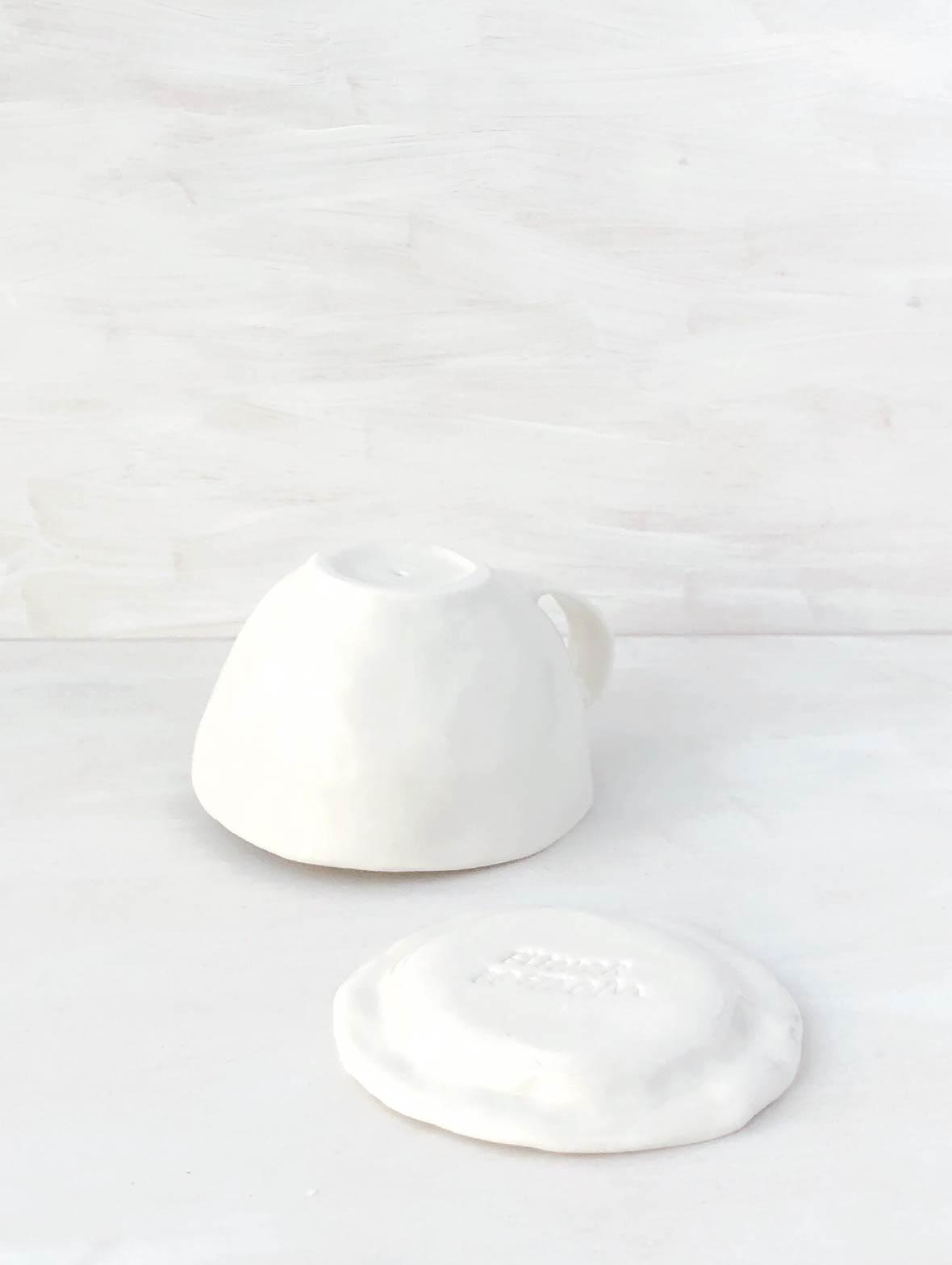 【TK】しあわせのコーヒーカップ(黒みみ・すやすや)