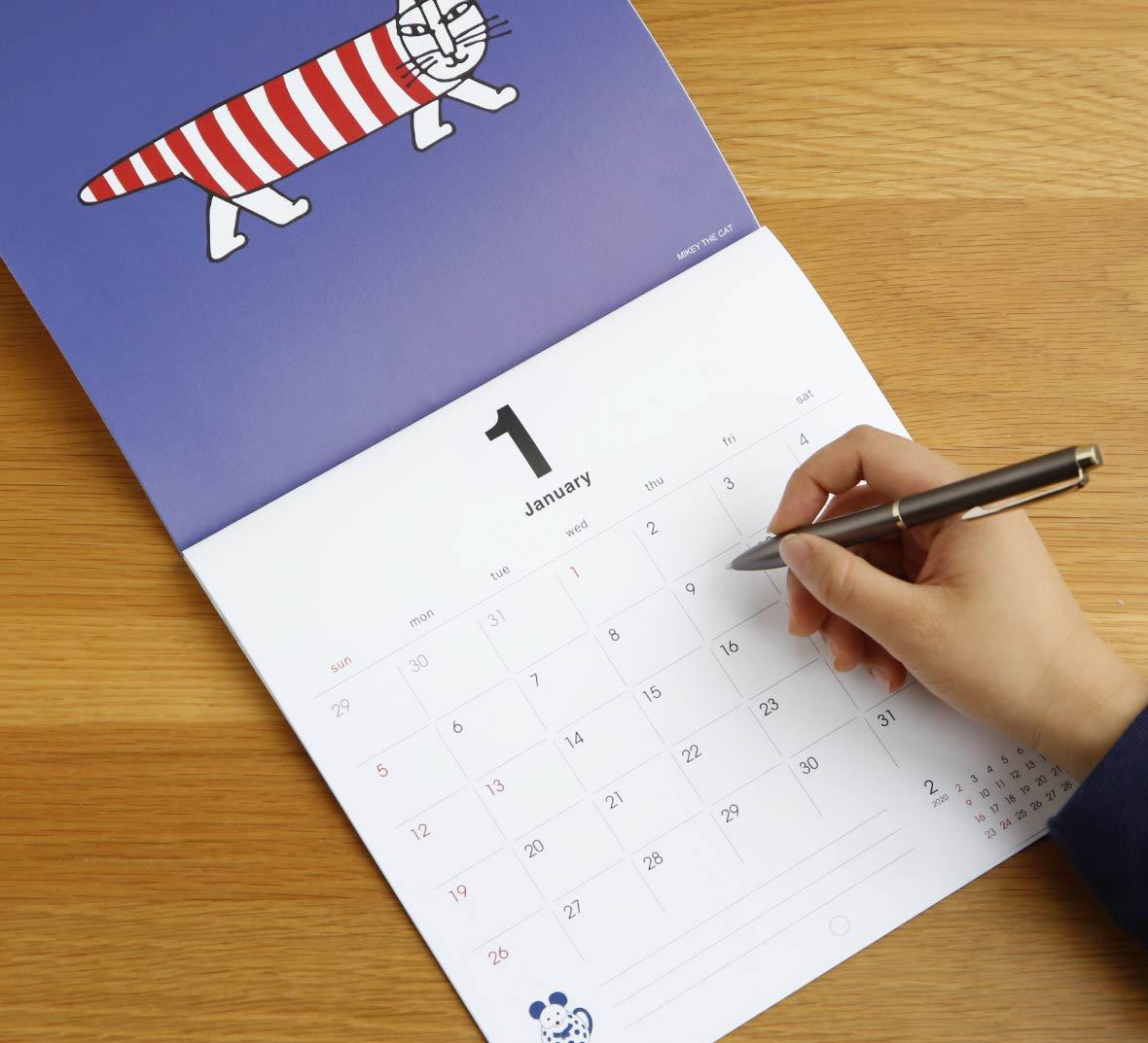 【TK】2020カレンダー BABY NUMBER BOOK(壁掛け)