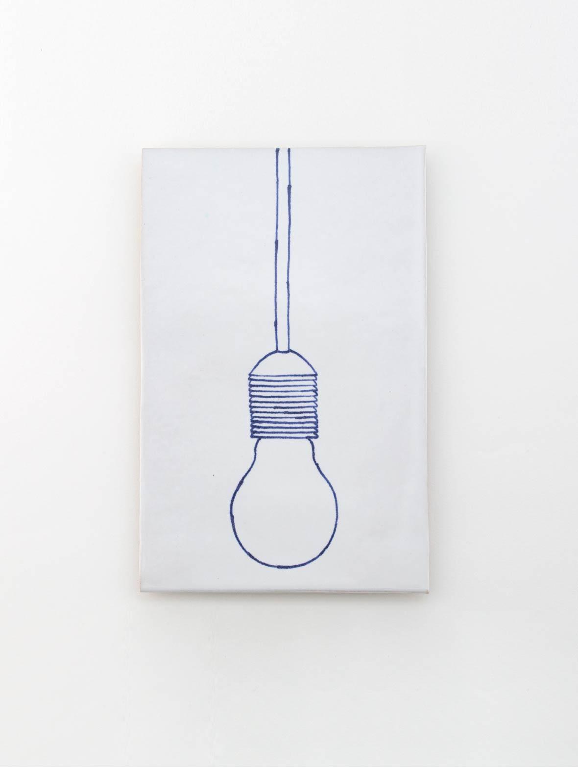 セラミックプレート(電球)