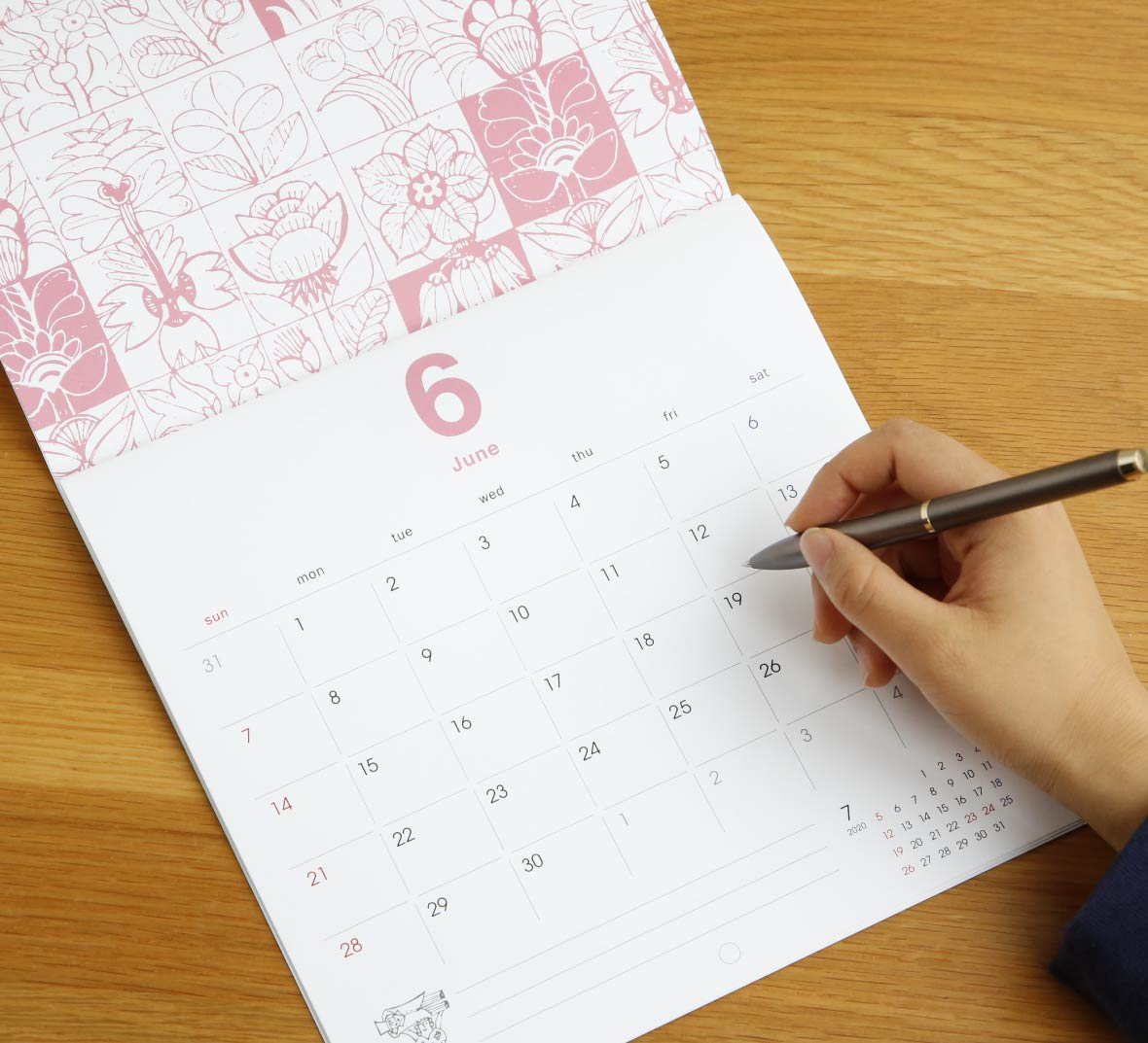 【TK】2020カレンダー デザインコレクション(壁掛け)