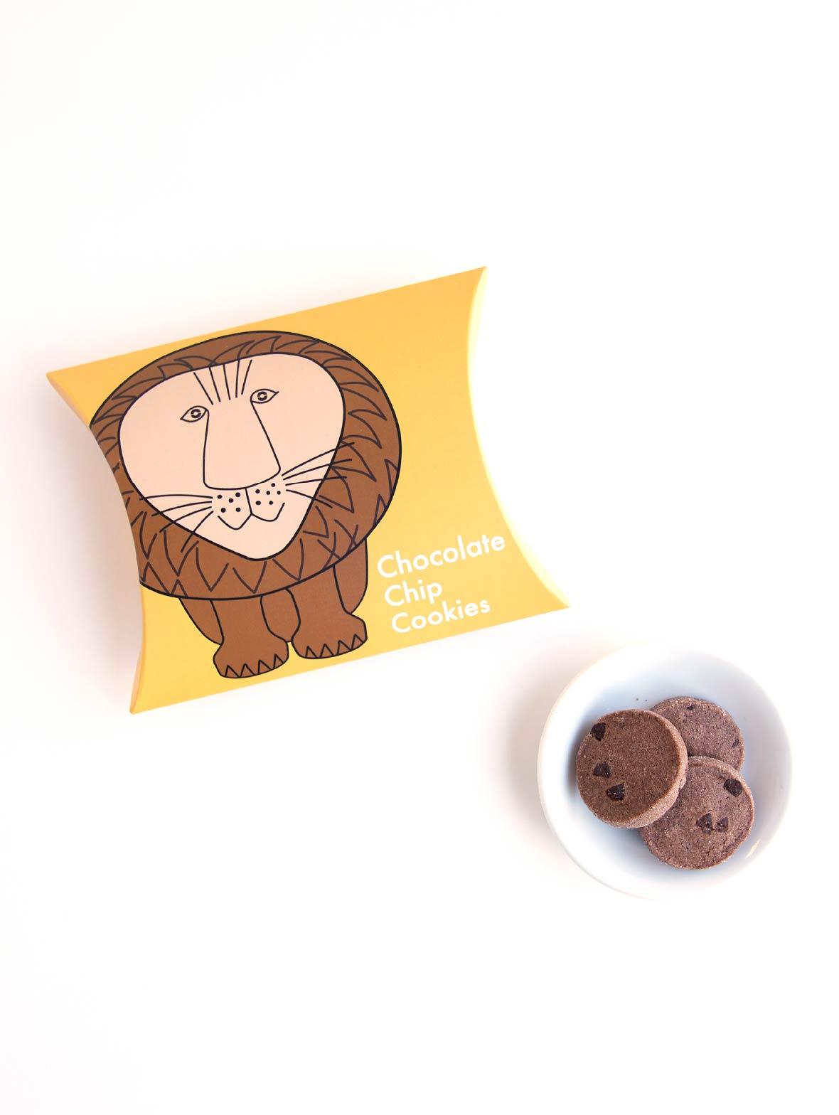 Fikaのためのクッキー(ライオンのチョコチップ)