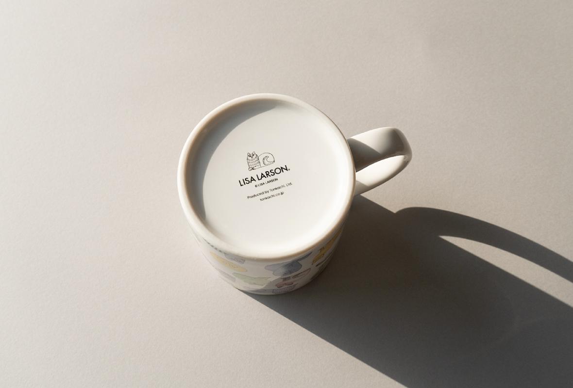 マグカップ(マカロンのスケッチねこたち)