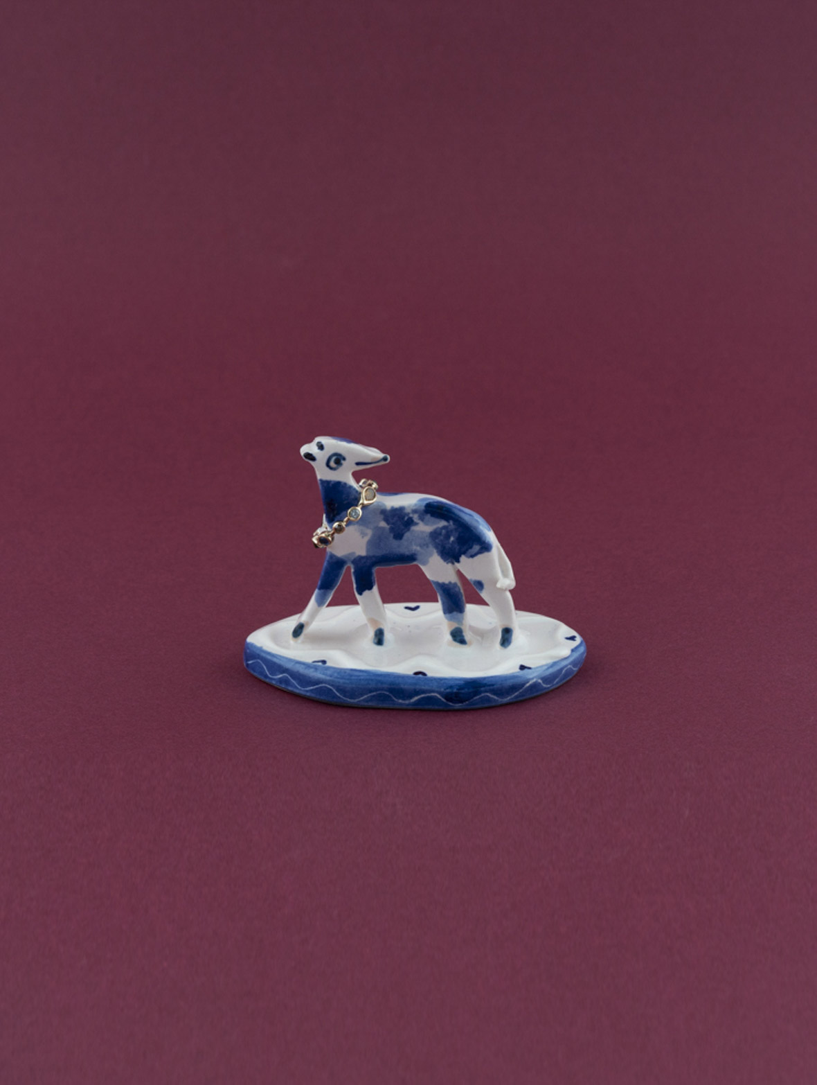 Tin Glaze Dog