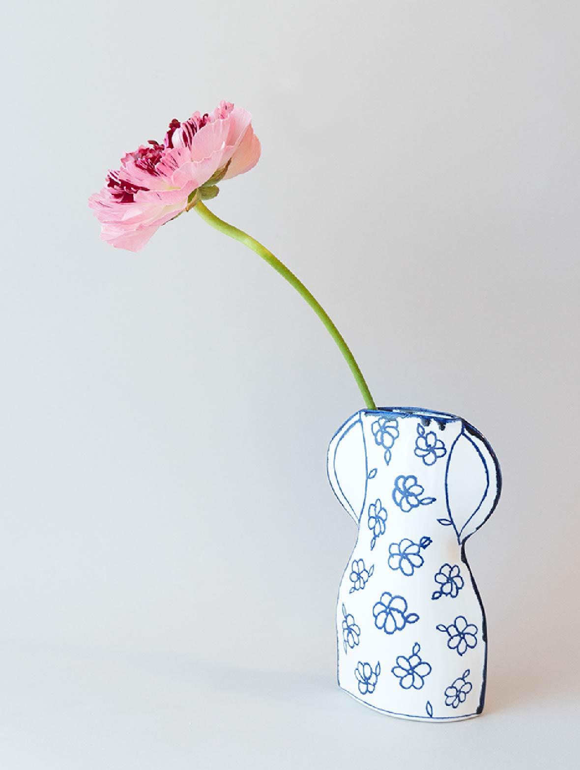 【TK】花柄のかびん (FP1)