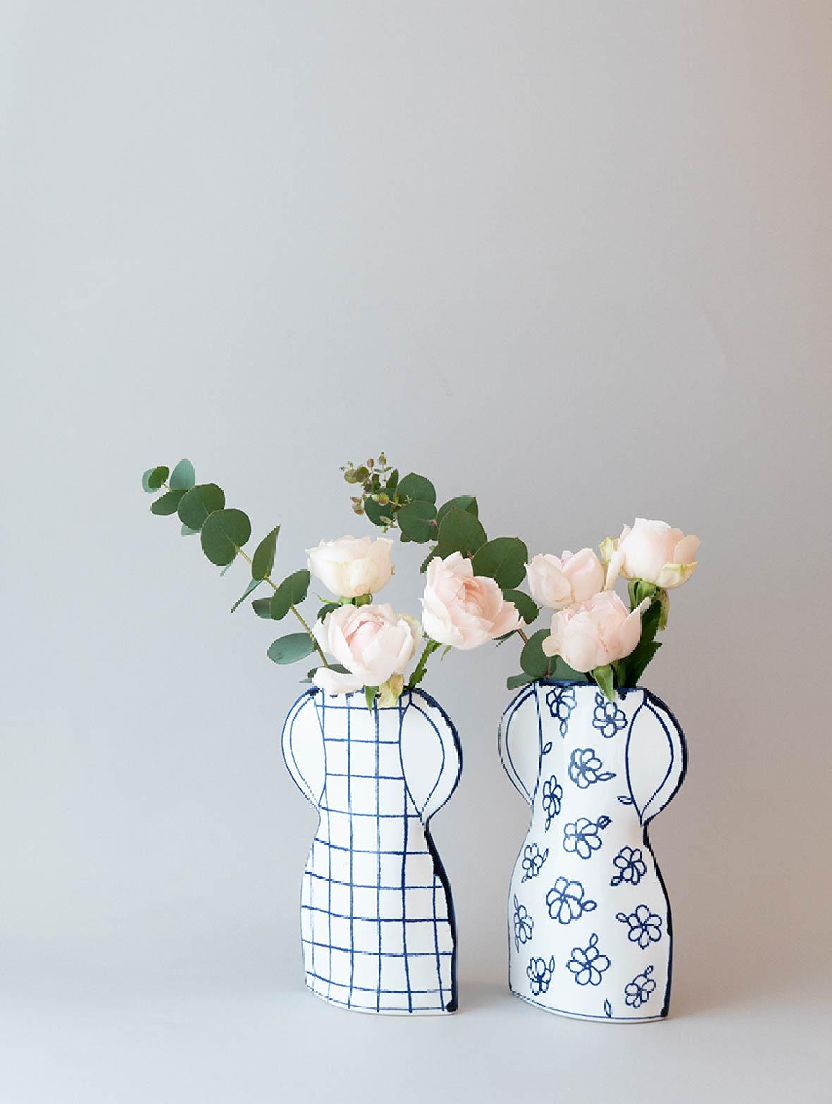 【TK】【6月初旬入荷予定】花柄のかびん (FP1)