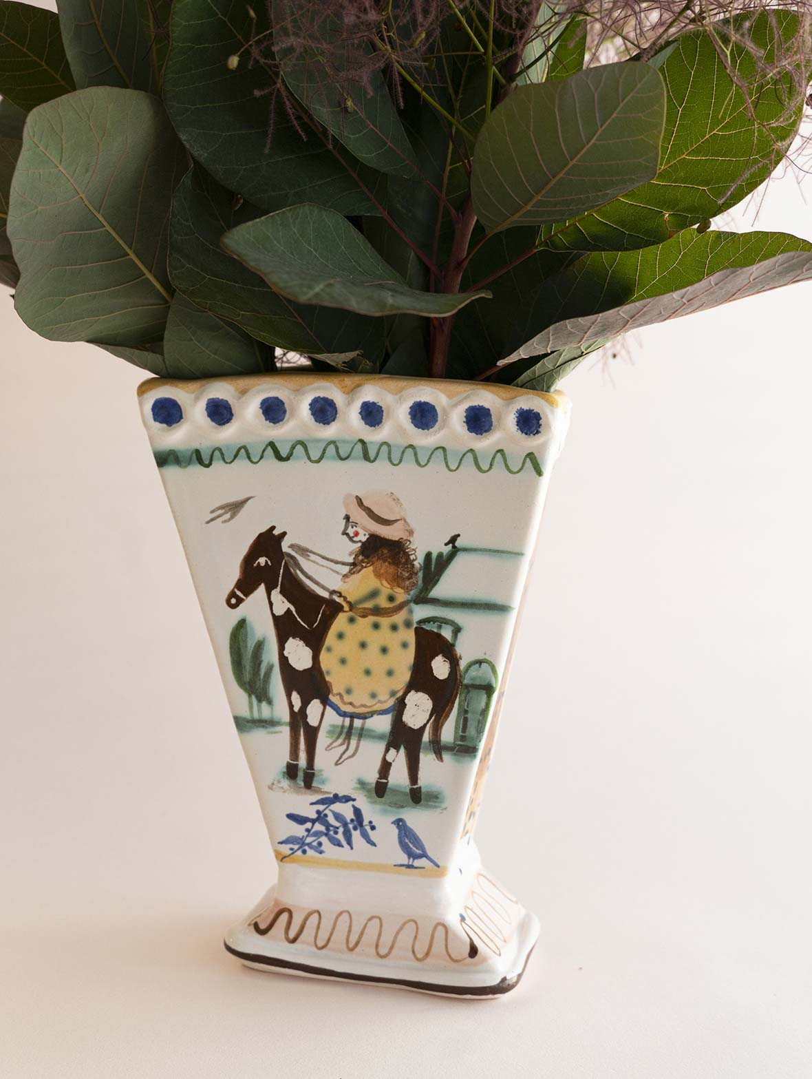 Roaming The Field Vase