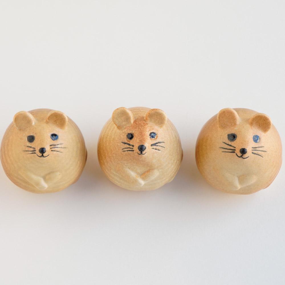 【TK】(Y)【2021年9月下旬以降順次出荷予定】3匹のねずみ(ブラウン)