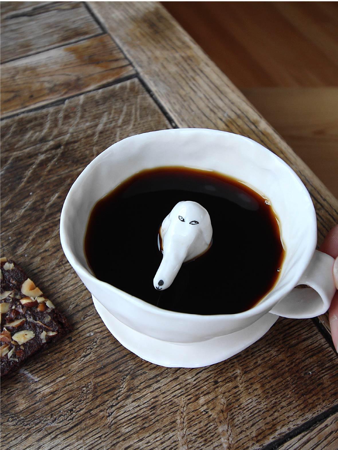【TK】しあわせのコーヒーカップ(白みみ・ぱっちり)
