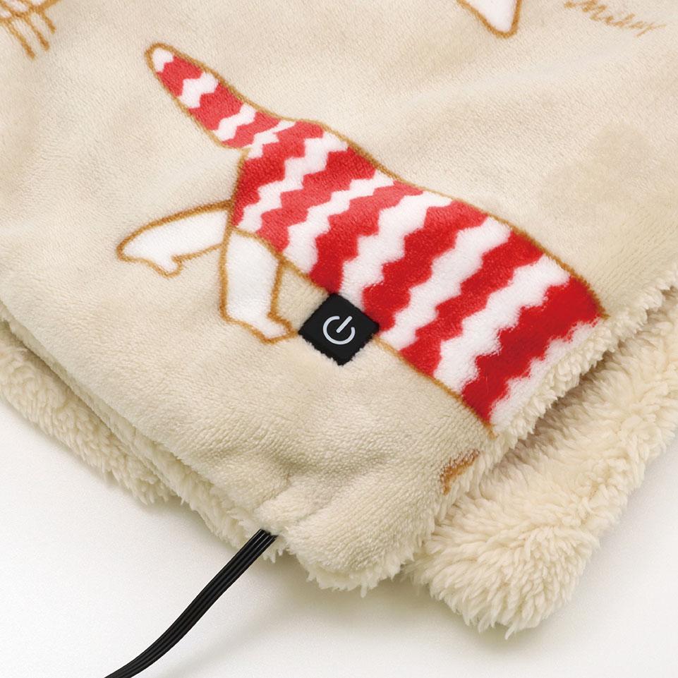 【TK】USBブランケット(マイキーベージュ)
