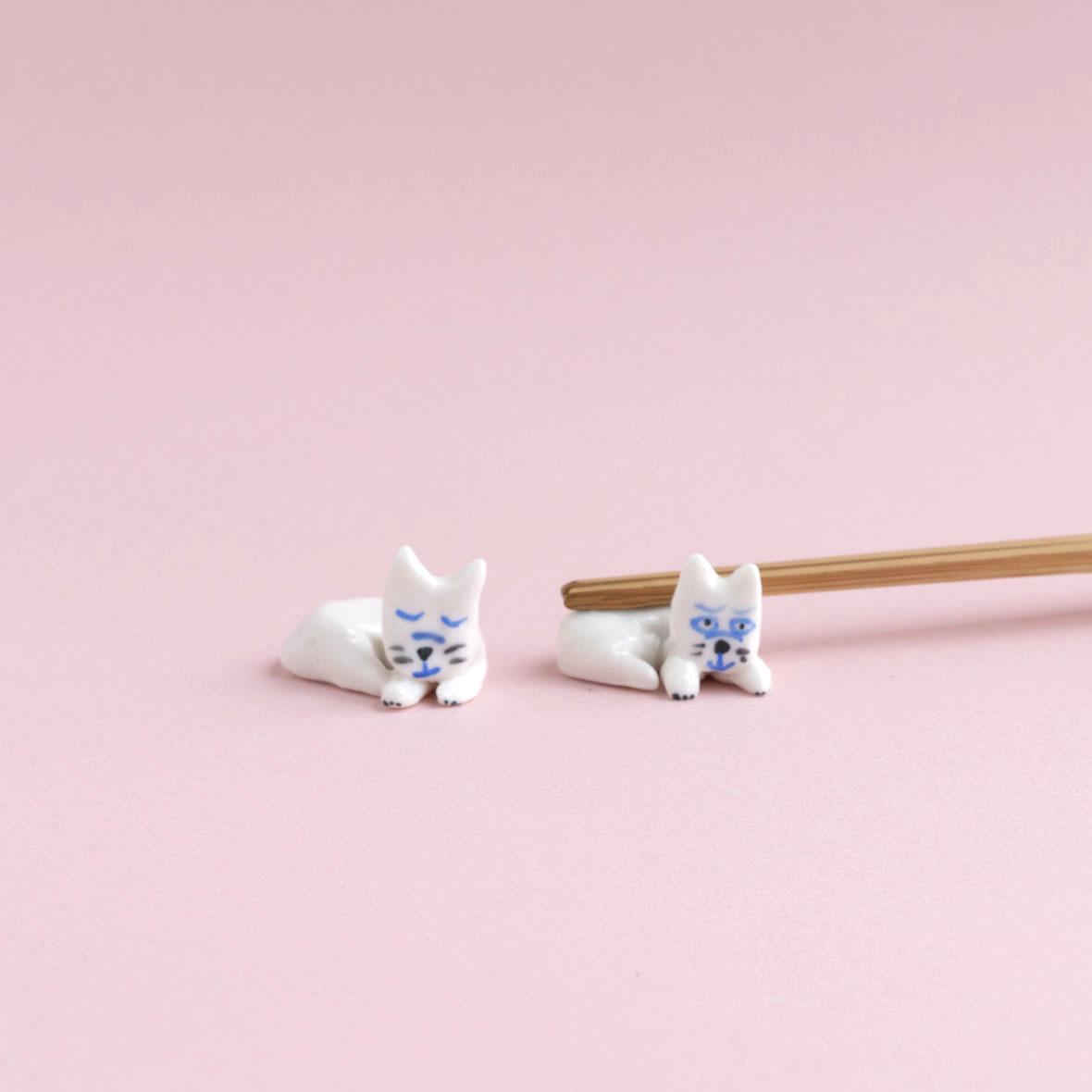 【TK】箸置き(ねこ・ラウンド)NO.13