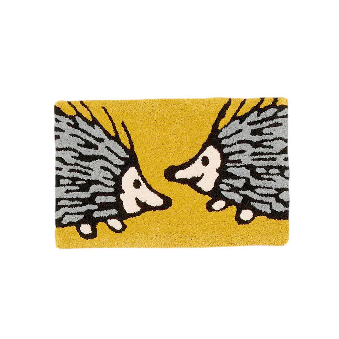 おしゃべりイギー マット(50×80cm・マスタード)