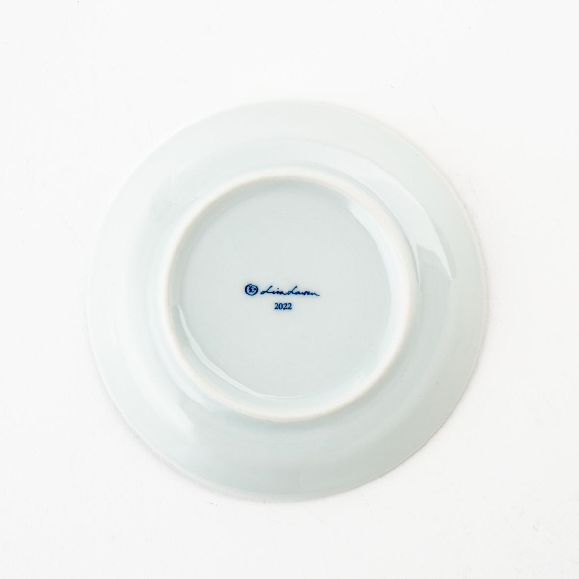 【TK】(Y)【2021年11月上旬以降順次出荷予定】豆皿(そとをみるとら・あおい)