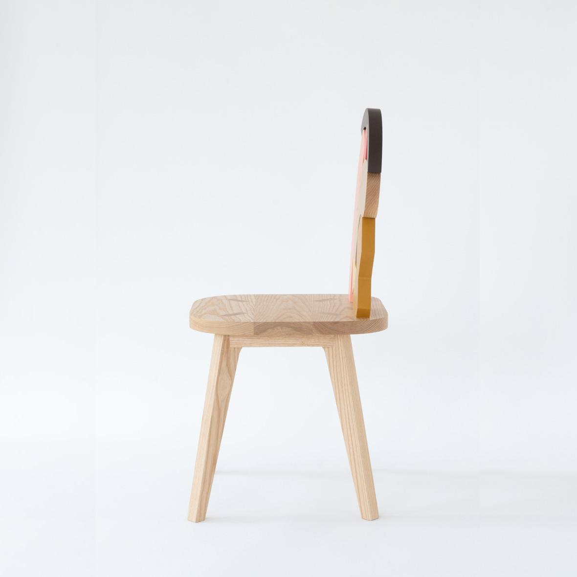 【TK】「もの想い」の椅子。 NO.2(ピンク)