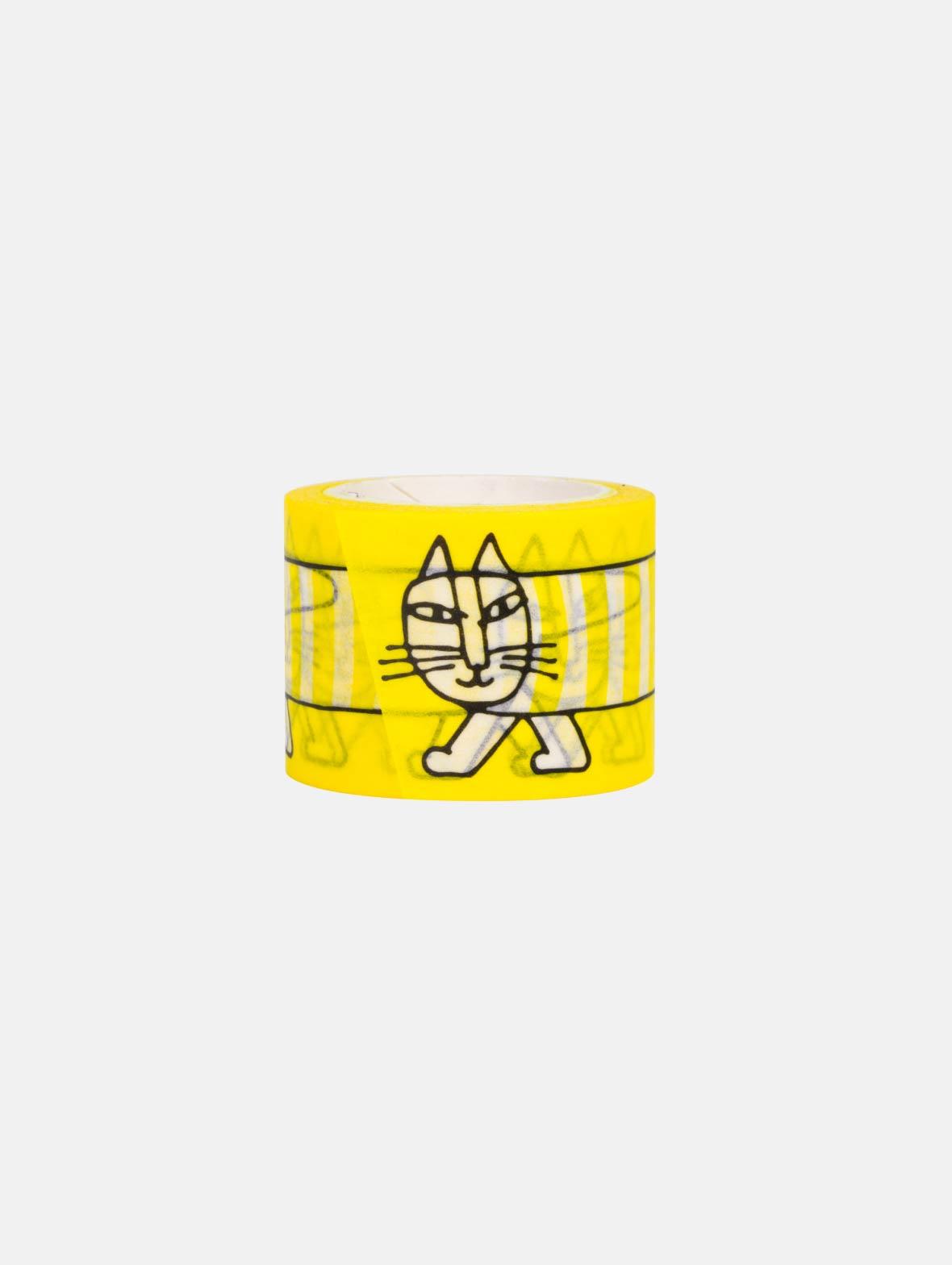 マスキングテープ(35mm・マイキー・イエロー)