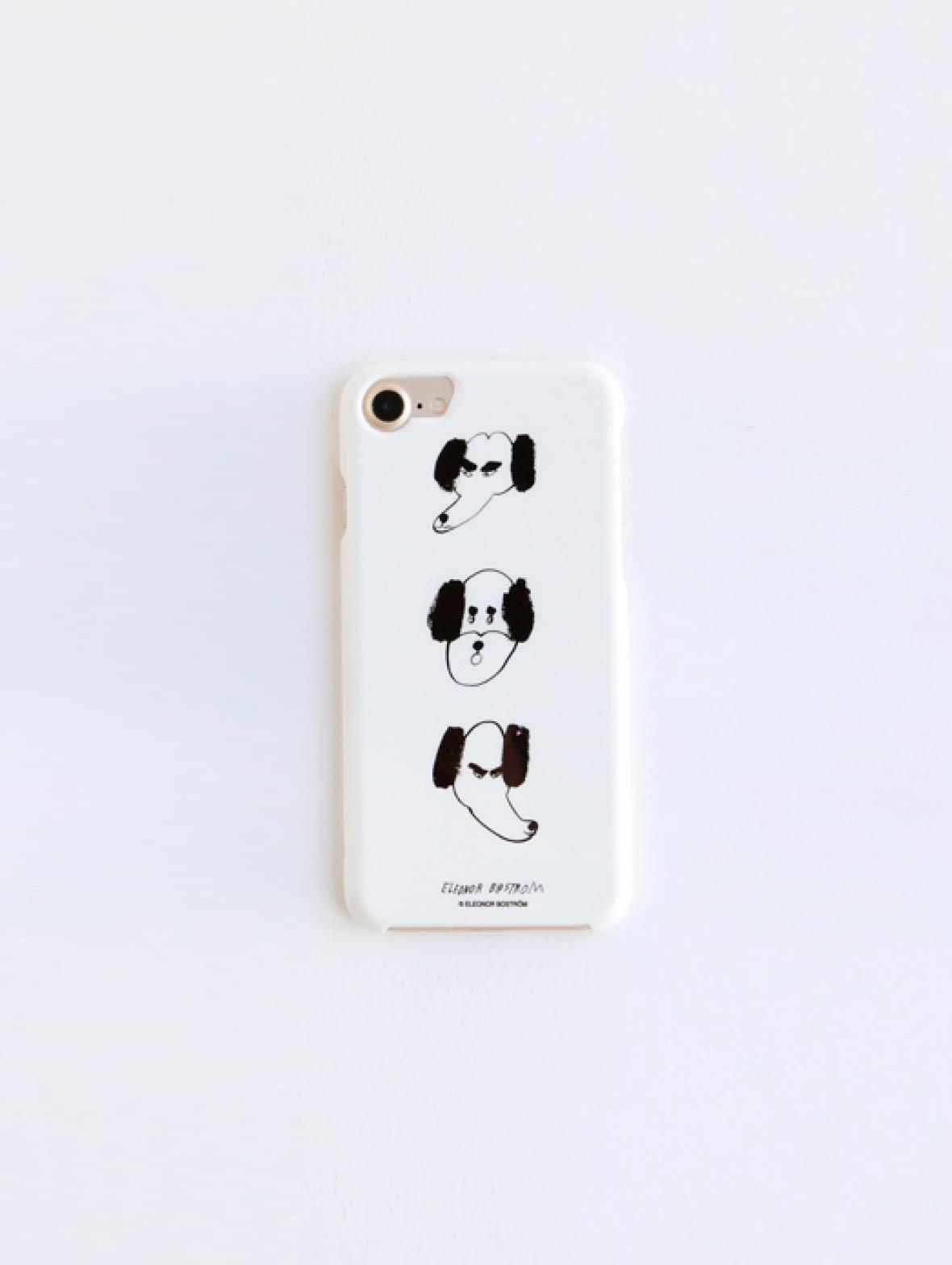 【TK】iPhoneケース(Dog Face)