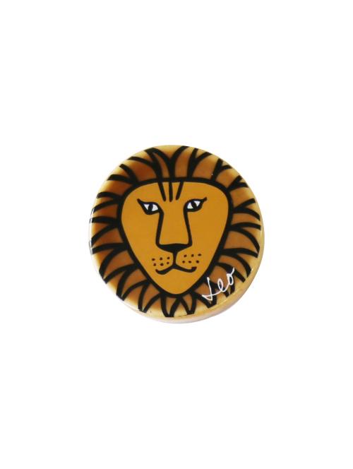 陶器マグネット(ライオン)