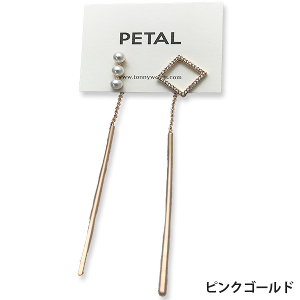 caronシリーズ☆ピアス・カノン 【PETAL MARKET】