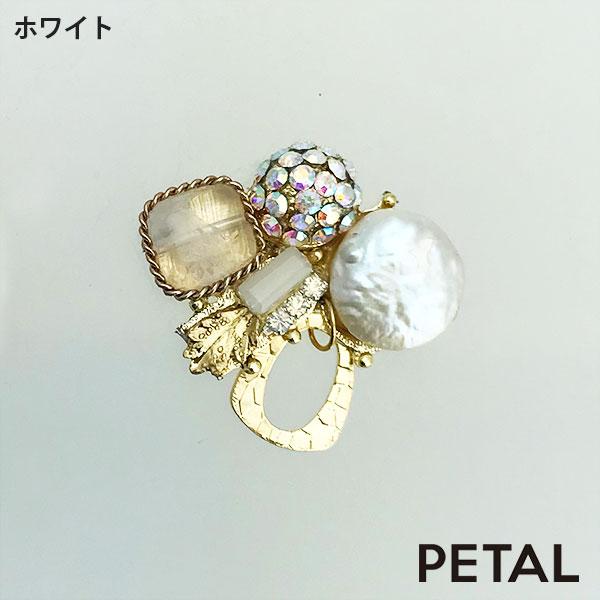 ピンブローチ・ガーデンフラワー【PETAL MARKET】