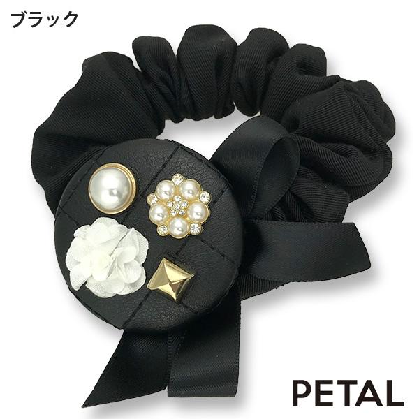 新作大人のキルティングシュシュ【PETAL MARKET】