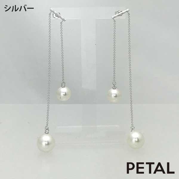 ピアス・双子パール【PETAL MARKET】