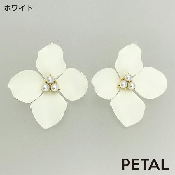 【ご予約カラーあり】ピアス・デニ 【PETAL MARKET】