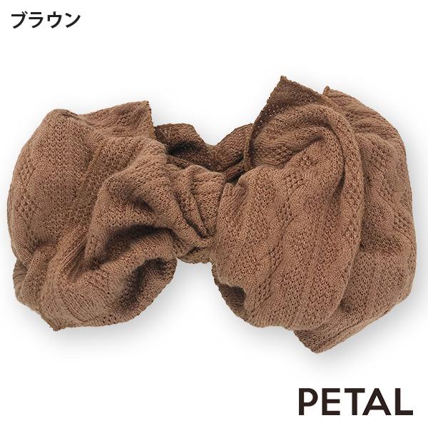 BONBONリボンウエーブターバン【PETAL MARKET】