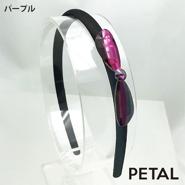 リボンビジューカチューシャ【PETAL MARKET】