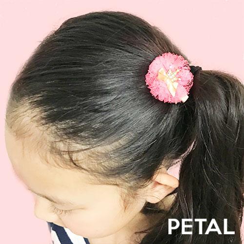 キッズ☆クラウンリボンちゃんミニピン【PETAL MARKET】
