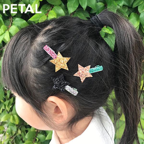 STAR=スター3本セットピン【PETAL MARKET】